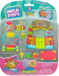 Moji Pops zestaw I like party z 2 figurkami