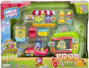 Moji Pops Party - food truck z 2 figurkami